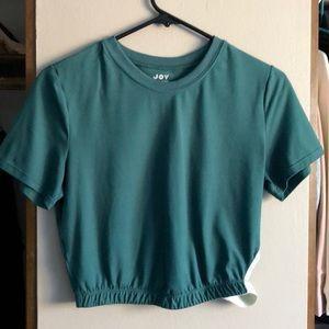 Joy lab jewel green top